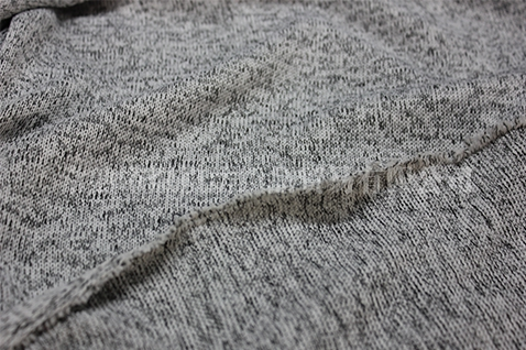 黑白纱色织粗针布